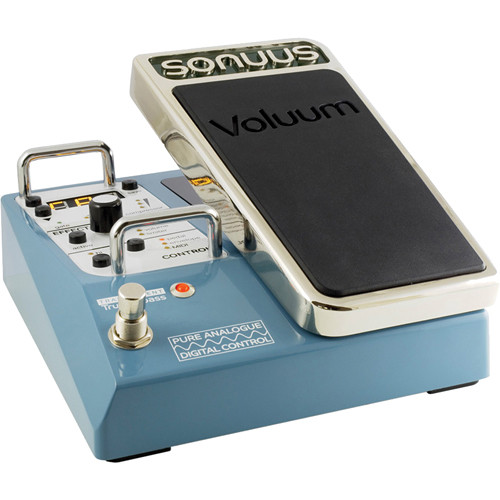 SONUUS Voluum Analogue Volume Effects Pedal with Digital Control