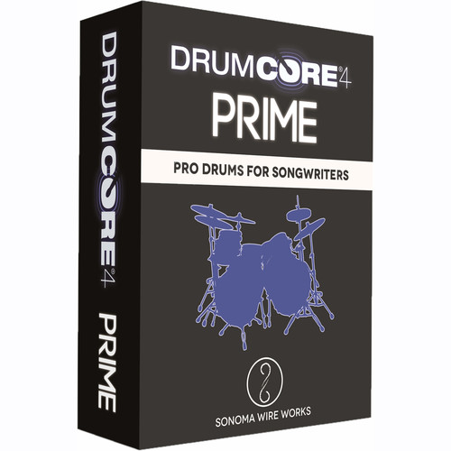 Sonoma Wire Works DrumCore 4 Prime Link - Virtual Instrument Plug-In (Download)
