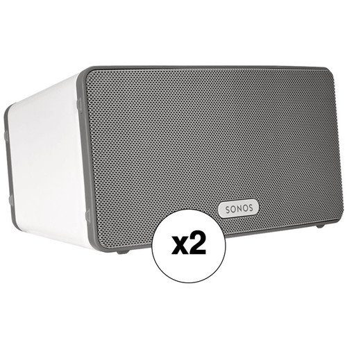 Sonos Play:3 Wireless Speaker Pair Kit (White)