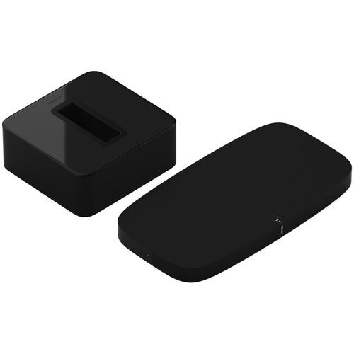 Sonos PLAYBASE Wireless Soundbase and SUB Wireless Subwoofer Kit (Black)