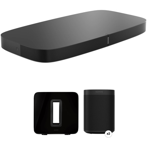 Sonos 5.1 Surround - PLAYBASE (Black)