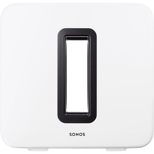 Sonos SUB Wireless Subwoofer with Integrated SONOSNet 2.0 Extender (Gloss White)