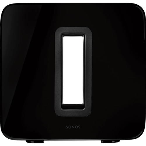 Sonos SUB Wireless Subwoofer with Integrated SONOSNet 2.0 Extender (Gloss Black)