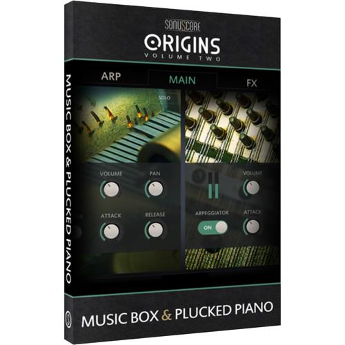SONUSCORE Origins Volume 2: Music Box & Plucked Piano - Virtual Instrument Library (Download)