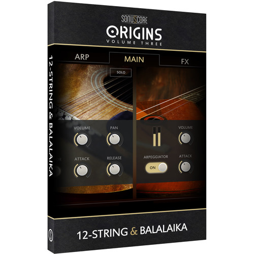 SONUSCORE Origins Volume 3: 12-String & Balalaika - Virtual Instrument Library (Download)