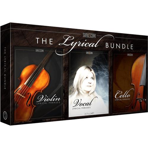 SONUSCORE Lyrical Bundle - Vocal, Cello & Violin Phrases for Composition & Sound Design (Download)