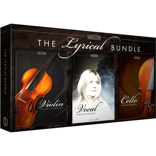 SONUSCORE Lyrical Bundle - Vocal, Cello & Violin Phrases for Composition & Sound Design (Download)