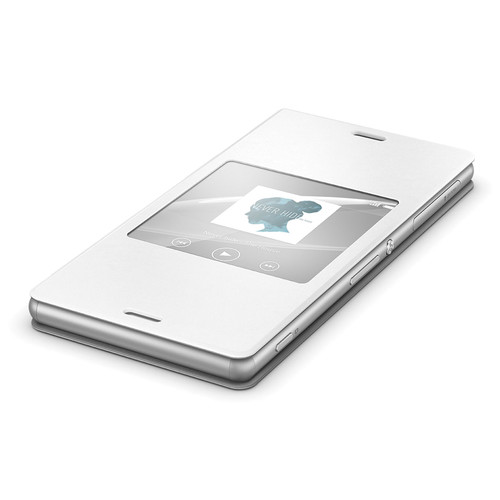 Sony SCR24 Style Cover Window for Xperia Z3 (White)