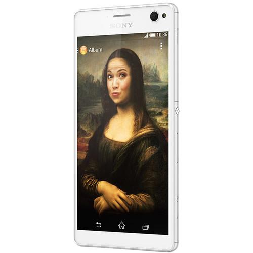 Sony Xperia C4 E5306 16GB Smartphone (Unlocked, White)