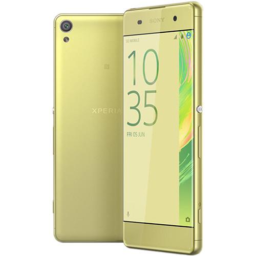 Sony Xperia XA F3113 16GB Smartphone (Unlocked, Lime Gold)
