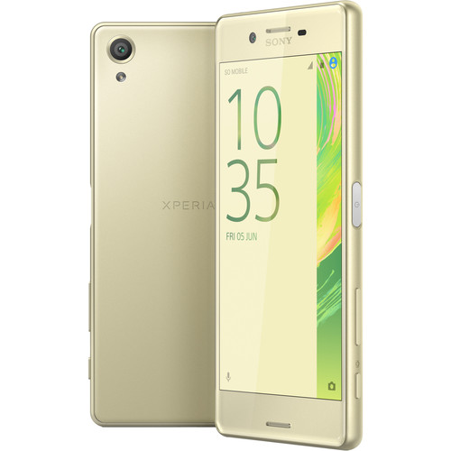 Sony Xperia X F5121 32GB Smartphone (Unlocked, Lime Gold)