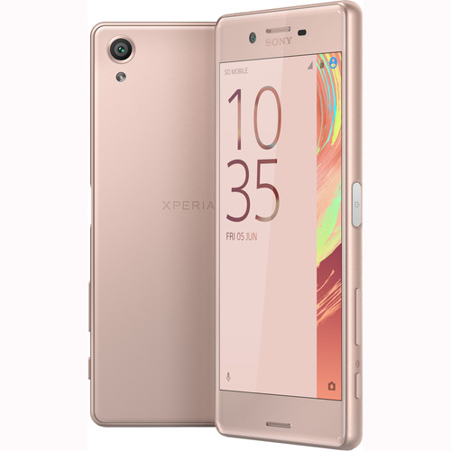 Sony Xperia X F5121 32GB Smartphone (Unlocked, Rose Gold)