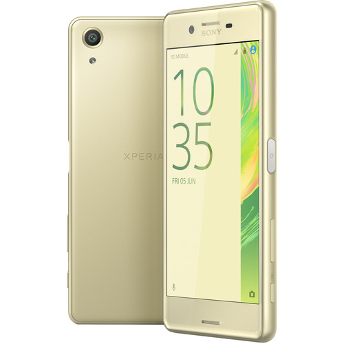 Sony Xperia X Performance F8131 32GB Smartphone (Unlocked, Lime Gold)