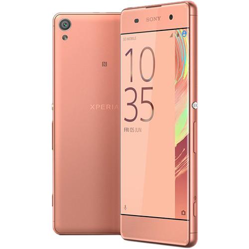 Sony Xperia XA F3113 16GB Smartphone (Unlocked, Rose Gold)