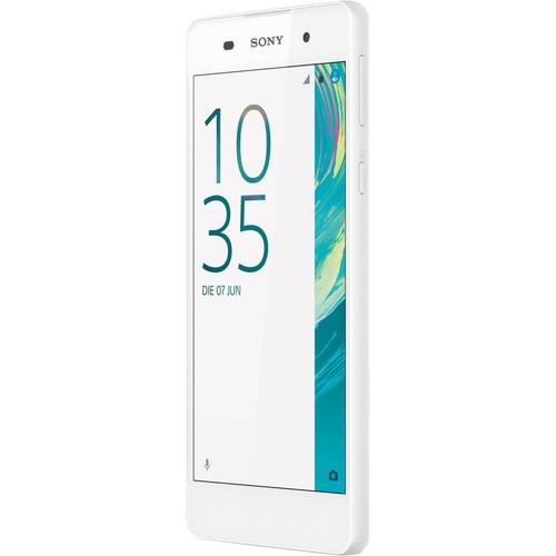 Sony Xperia E5 F3313 16GB Smartphone (Unlocked, White)