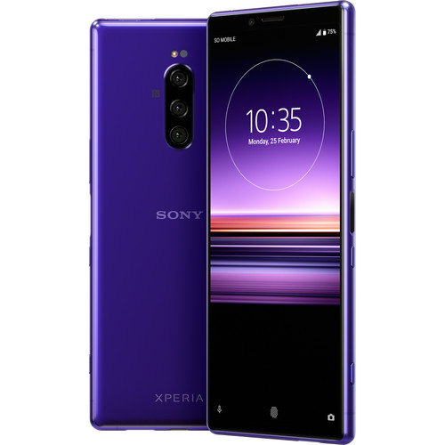 Sony Xperia 1 J8170 128GB Smartphone (Unlocked, Purple)