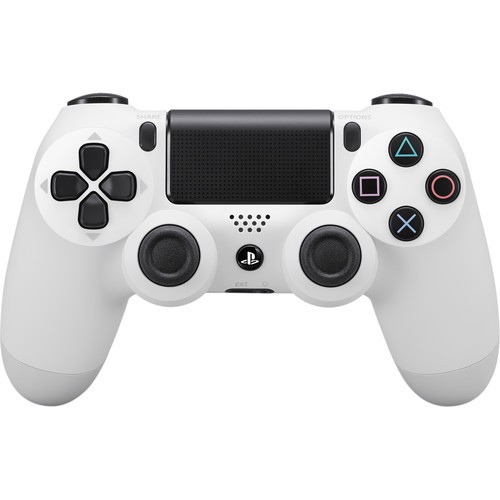 Sony DualShock 4 Wireless Controller (Glacier White)