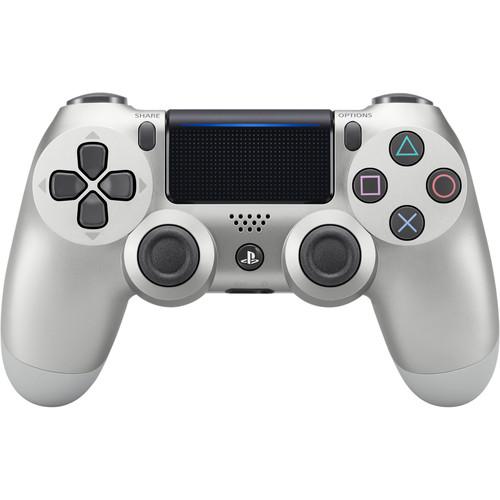 Sony DualShock 4 Wireless Controller (Silver, 2016 Version)