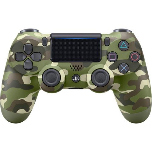 Sony DualShock 4 Wireless Controller (Green Camo, 2016 Version)