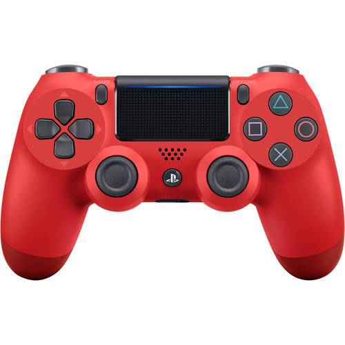 Sony DualShock 4 Wireless Controller (Magma Red, 2016 Version)