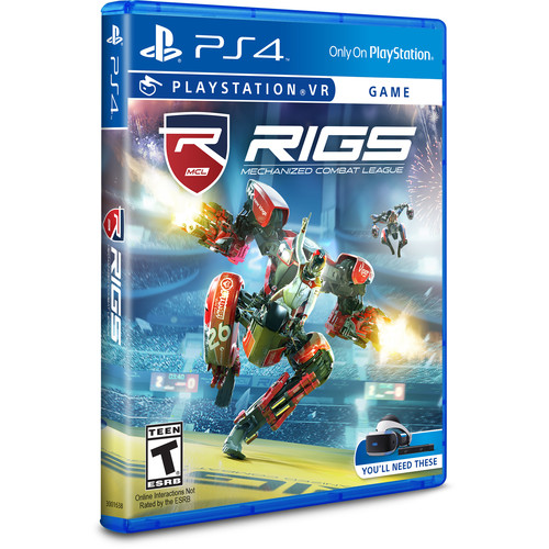 Sony RIGS Mechanized Combat League VR (PS4)