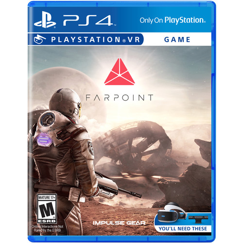 Sony Farpoint VR (PS4)