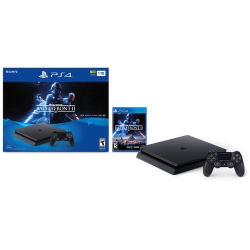 Sony Star Wars Battlefront II PlayStation 4 Bundle (Black)