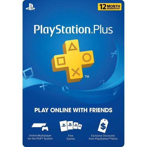 Sony PlayStation Plus 1 Year Membership