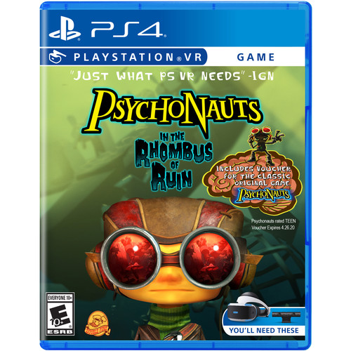Sony Psychonauts in the Rhombus of Ruin VR (PS4)