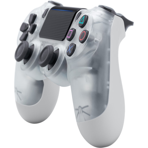 Sony DualShock 4 Wireless Controller (Crystal)