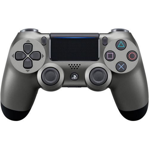 Sony DualShock 4 Wireless Controller (2016 Version, Steel Black)
