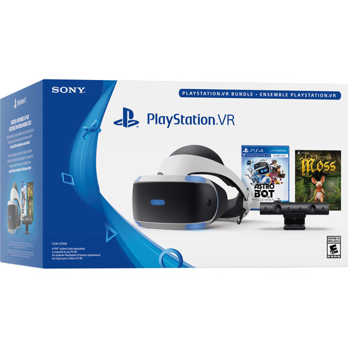 Sony PlayStation VR ASTRO BOT Rescue Mission and Moss Bundle (PS4)
