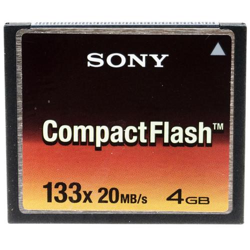 Sony 4GB Compact Flash Memory Card 133x