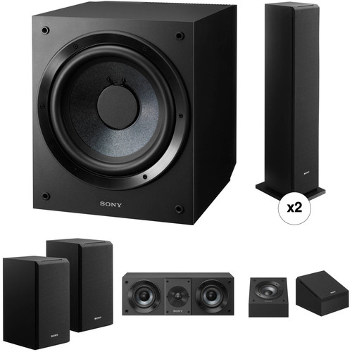 Sony 7.1-Channel Atmos Speaker System Kit