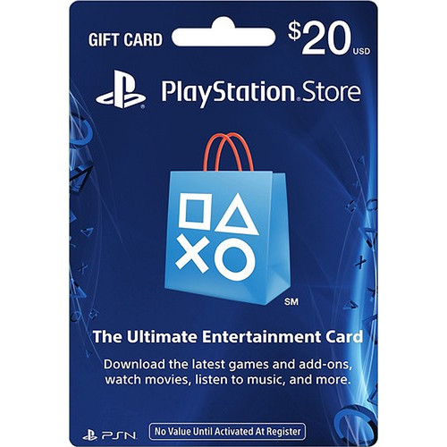 Sony PlayStation Store $20 Gift Card