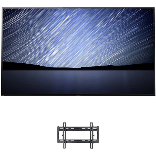 """Sony A1E 55"""" Class HDR UHD Smart OLED TV and Tilting Wall Mount Kit"""