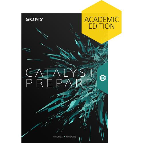 Sony Catalyst Prepare (Academic, Boxed)