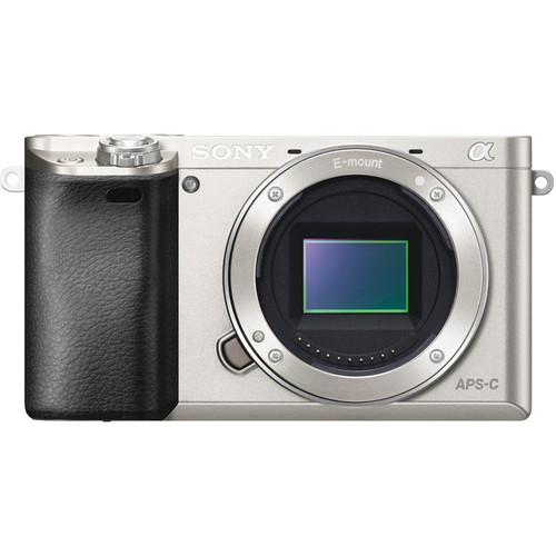 Sony Alpha a6000 Mirrorless Digital Camera Body Deluxe Kit (Silver)
