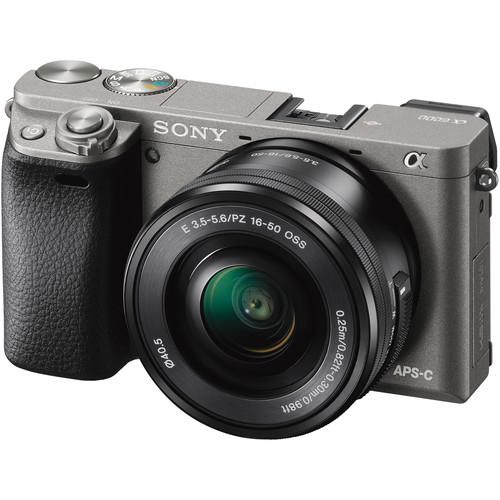 Sony Alpha a6000 Mirrorless Digital Camera with 16-50mm Lens Basic Kit (Graphite)