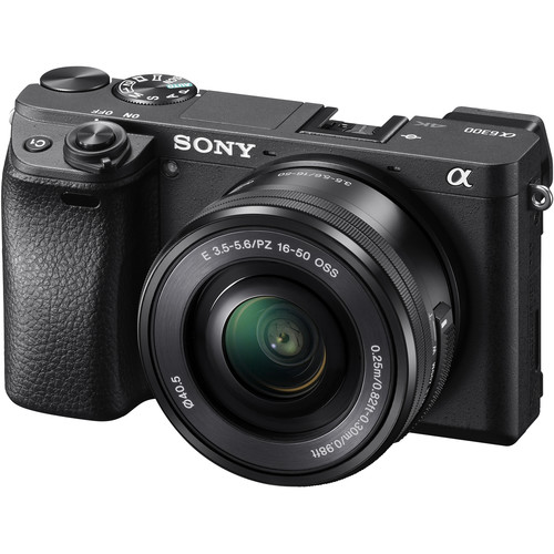 Sony Alpha a6300 Mirrorless Digital Camera with 16-50mm Lens