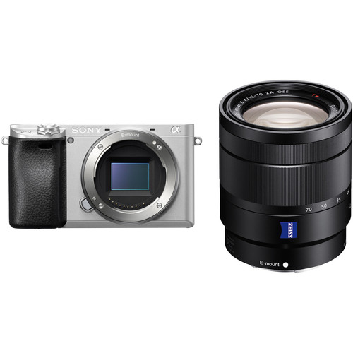 Sony Alpha a6300 Mirrorless Digital Camera with 16-70mm Lens Kit (Silver)