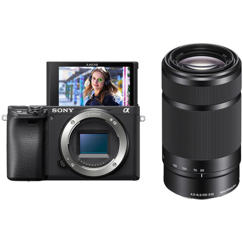 Sony Alpha a6400 Mirrorless Digital Camera with 55-210mm Lens Kit
