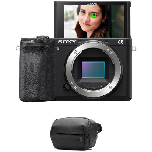 Sony Alpha a6600 Mirrorless Digital Camera Body with Accessories Kit
