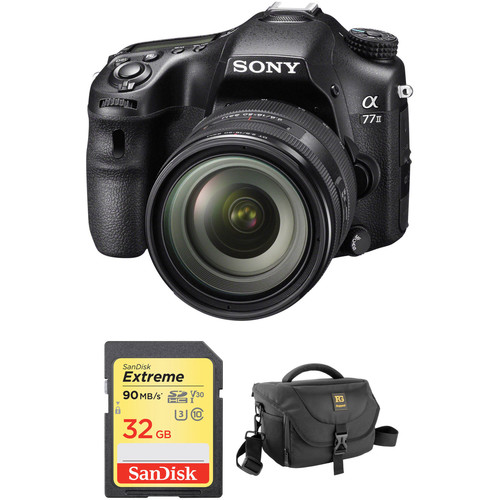 Sony Alpha a77 II DSLR Camera with 16-50mm f/2.8 Lens Accessory Kit