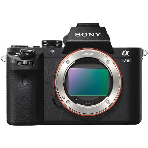 Sony Alpha a7 II Mirrorless Digital Camera Body with 6-Track Field Recorder Kit