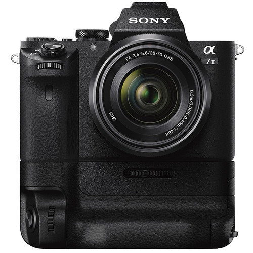 Sony Alpha a7 II Mirrorless Digital Camera with 28-70mm Lens and Battery Grip Kit