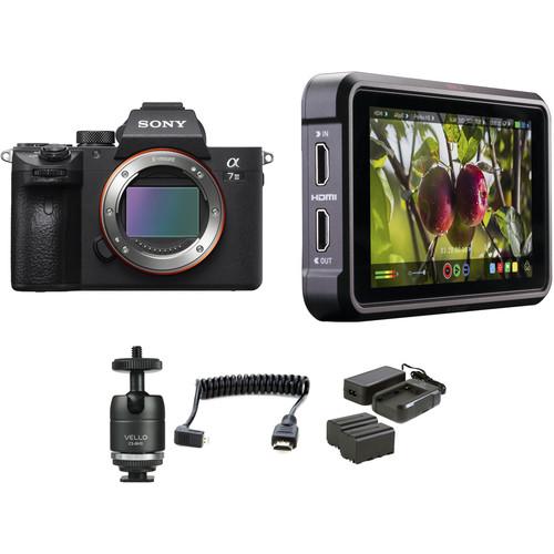Sony Alpha a7 III Mirrorless Digital Camera HDR Filmmaker Kit