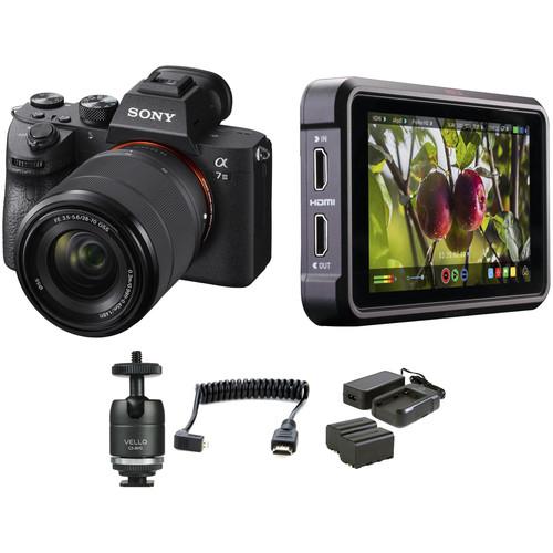 Sony Alpha a7 III Mirrorless Digital Camera with 28-70mm Lens HDR Filmmaker Kit