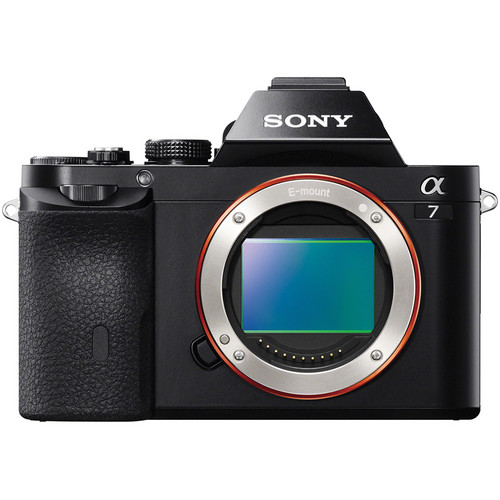 Sony Alpha a7 Mirrorless Digital Camera Body with Battery and Memory Card Kit