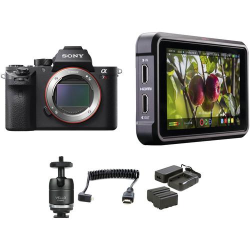 Sony Alpha a7R II Mirrorless Digital Camera HDR Filmmaker Kit